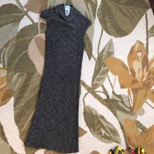 Sleeveless cowlneck sweater dress!
